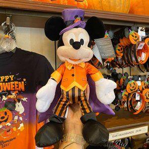 ✨ NWT Halloween Mickey Plush | Disney